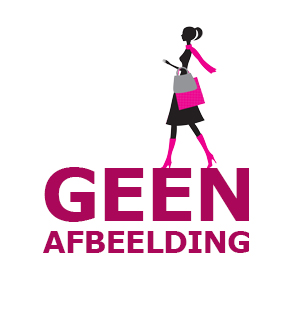 Fabs sneaker met imitatiebond zwart 470301 80