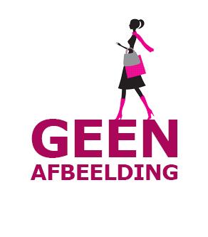 Street One wijde print broek zwart 374150 20001